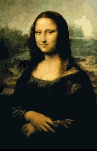 Mona Lisa at Segmation