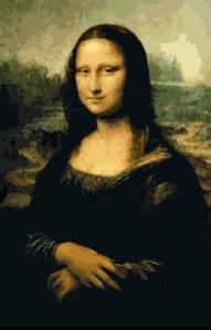 Mona Lisa at Segmation