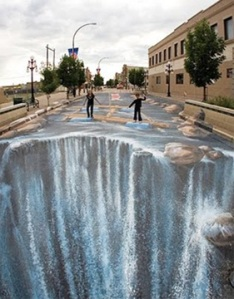 Chalk Art Transforms the Sidewalk into a Canvas