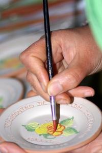 Portuguese ceramics painter