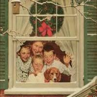 Norman Rockwell's Artwork Inspired by the Christmas Holiday
