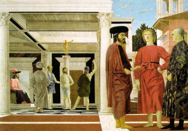 Flagellation of Christ -Segmation