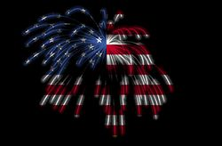 Color the Fourth of July with Red, White, and Blue Crafts