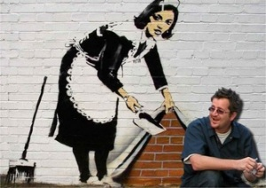 The Graffiti Artist Street Vendor