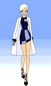 Dressy Gals Blue Square