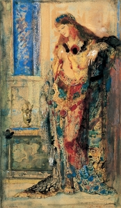 The Toilet by Gustave Moreau