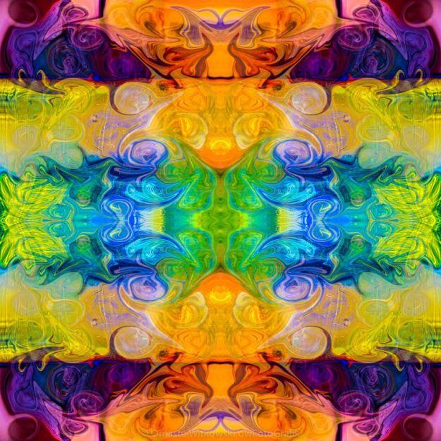 Rainbow Revolution Abstract Pattern Artwork by Omaste Witkowski owFotoGrafik.com