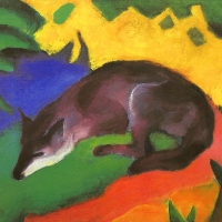 Franz Marc German Expressionist Painter