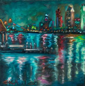 America's Finest City Lights, San Diego 10x10